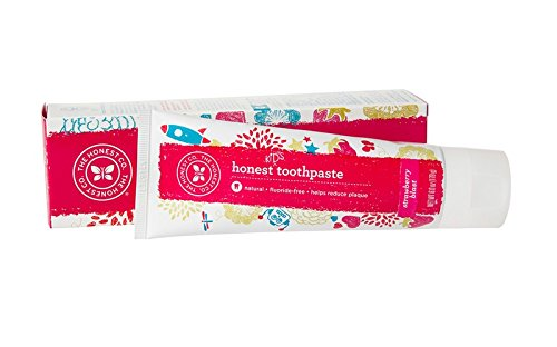 Honest Toothpaste - Natural and Fluoride-Free Toothpaste