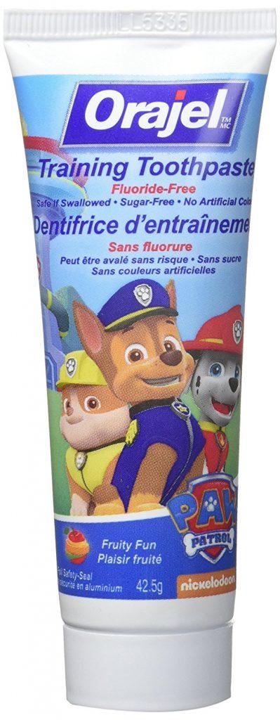 Orajel PAW Patrol Training Toothpaste for kids