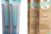 Dr. Ginger's Coconut Oil Toothpaste Free From Fluoride 1