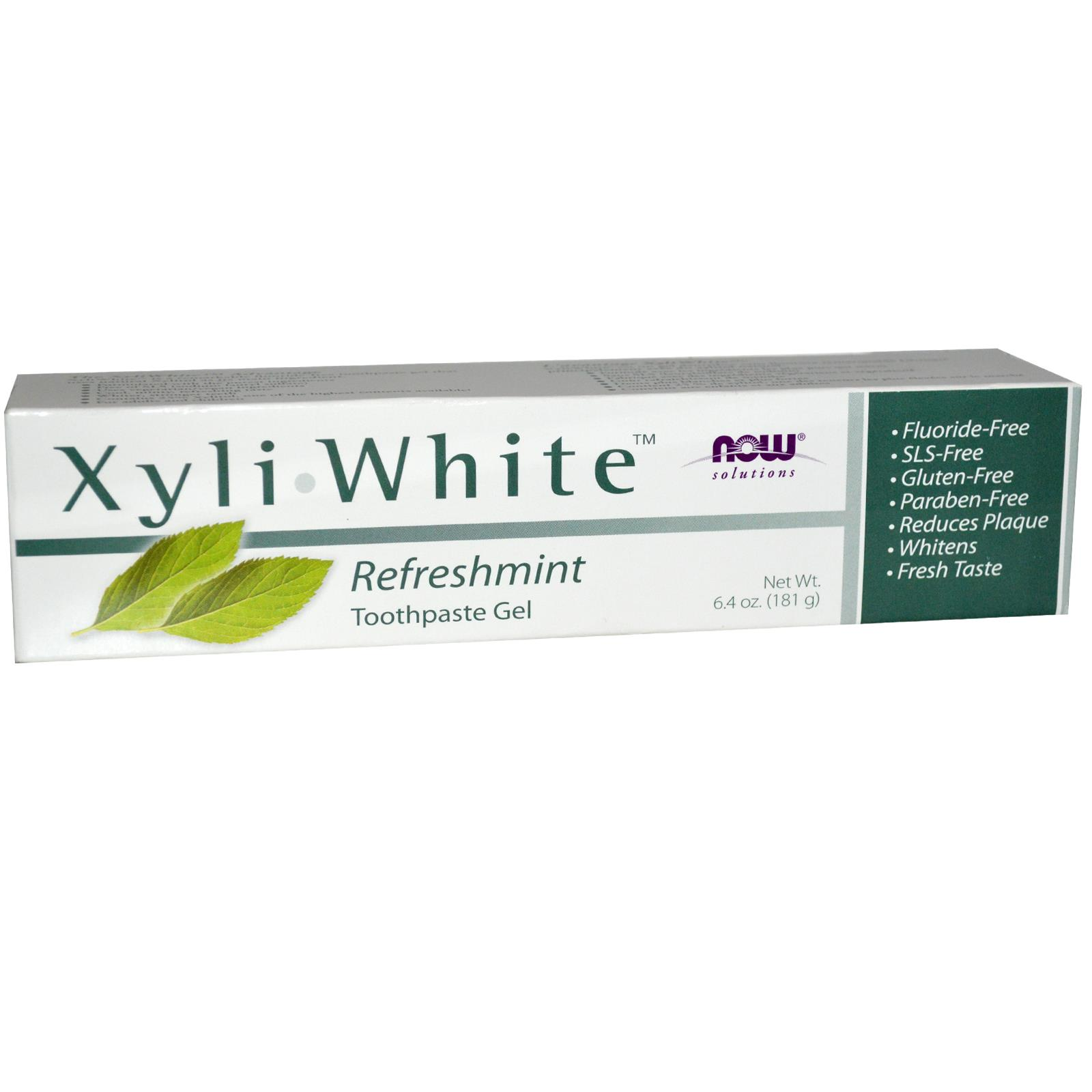 NOW Foods Xyliwhite Toothpaste Gel Review