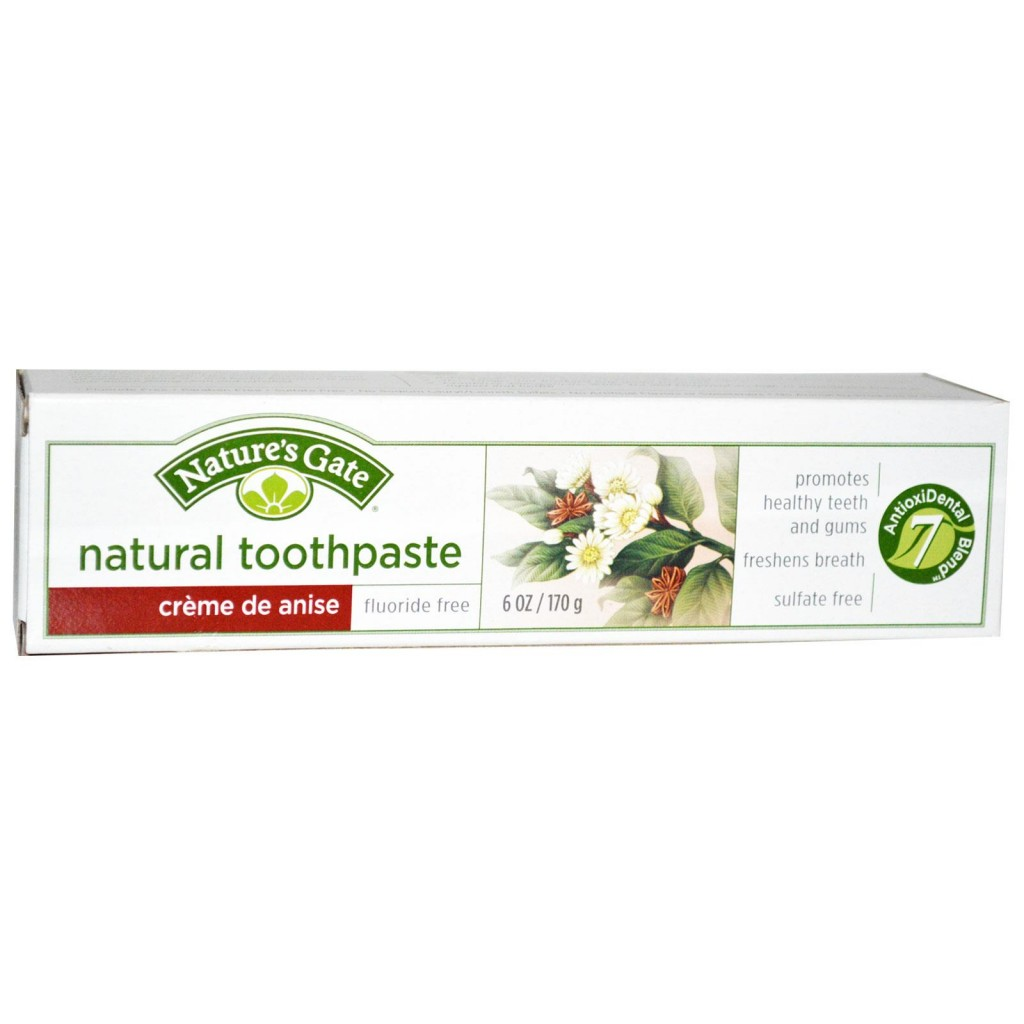 Nature's Gate Toothpaste without Fluoride