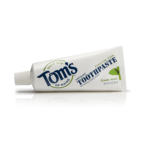 Fluoride-Free Travel Natural Toothpaste by Toms of Maine Review
