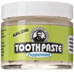 Uncle Harrys Natural Toothpaste
