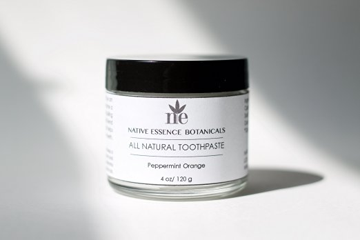 Best All Natural Toothpaste By Native Essence Botanicals