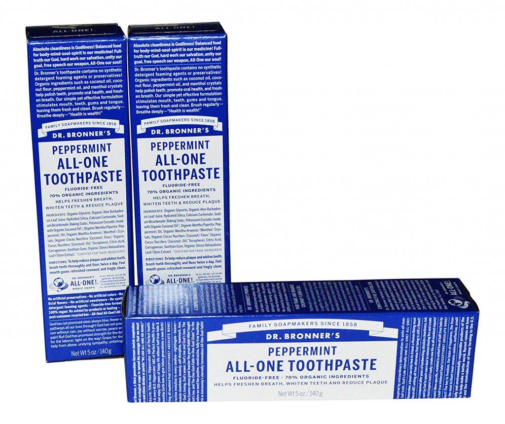 Spearmint Toothpaste