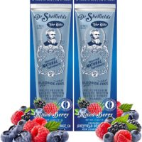 All Natural Dr. Sheffield's Certified Natural Toothpaste